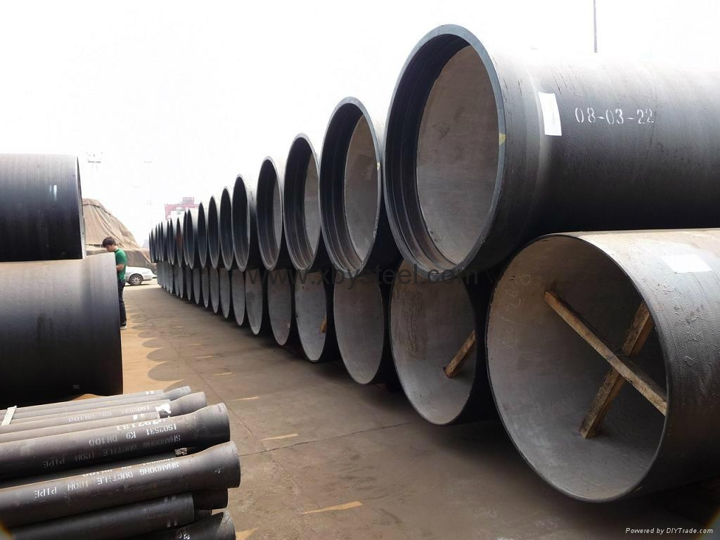 ISO 2531 K9 150mm ductile iron pipe manufacturer 4
