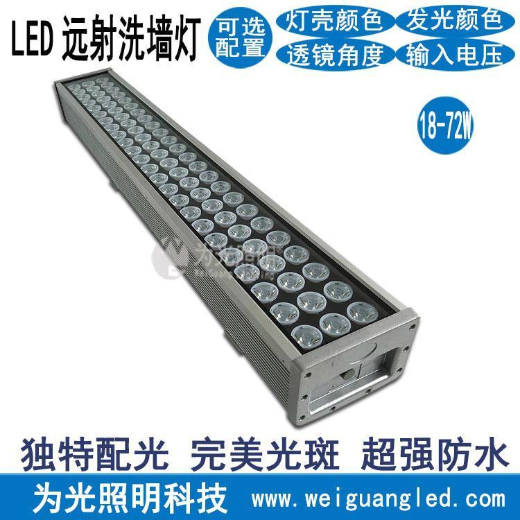 七彩多變輪廓投射燈戶外防水高亮遠程照射燈 1