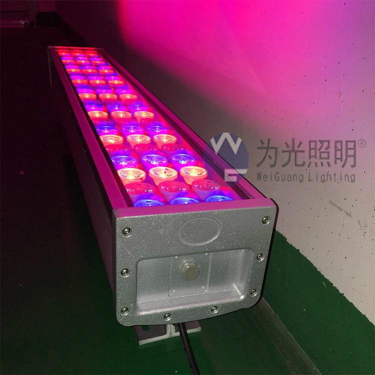 LED long-range wash wall lamp colorful variable contour projection outdoor  3