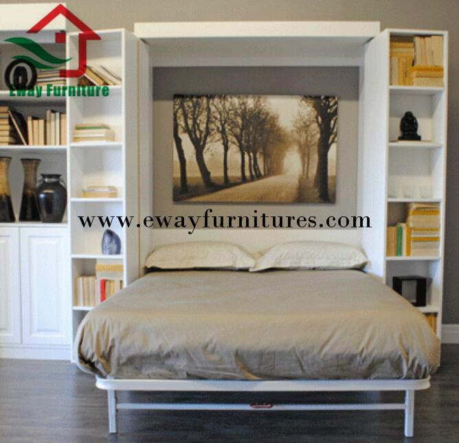 Hot Sale Space Saving Murphy Bed Hidden Wall Bed 4