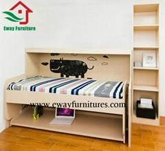 Queen size folding bed murphy bed