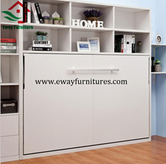 Small space solution hot sale horizontal customized murphy wall bed