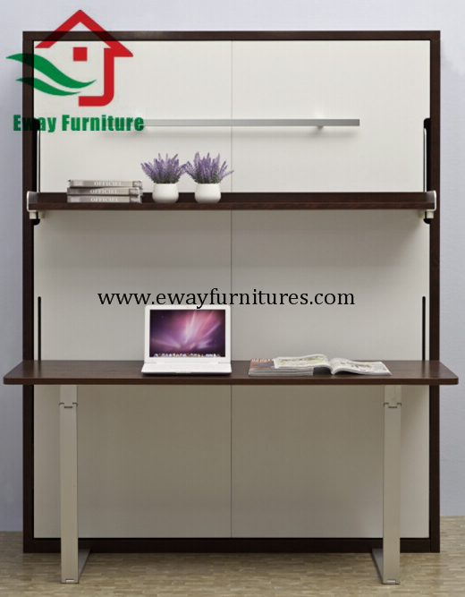 Multifunctional Murphy bed with desk 3