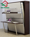Multifunctional Murphy bed with desk 2