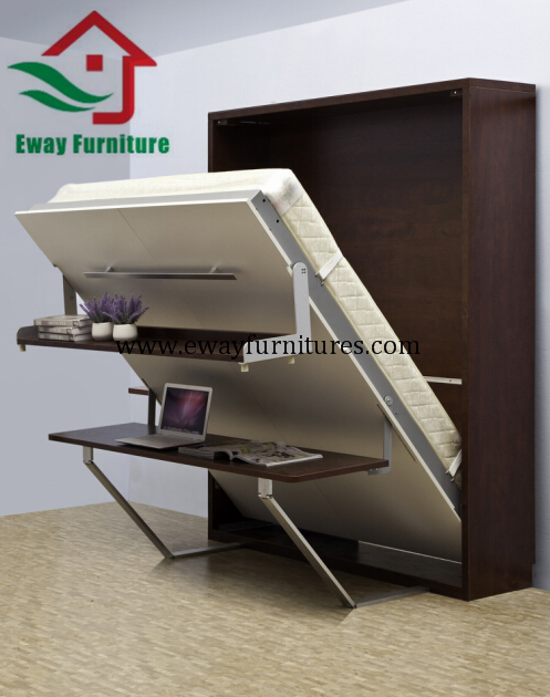 Multifunctional Murphy bed with desk 1