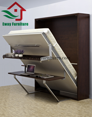 Multifunctional Murphy bed with desk