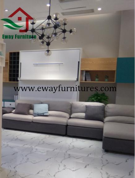 Modern design murphy bed folding wall bed 5
