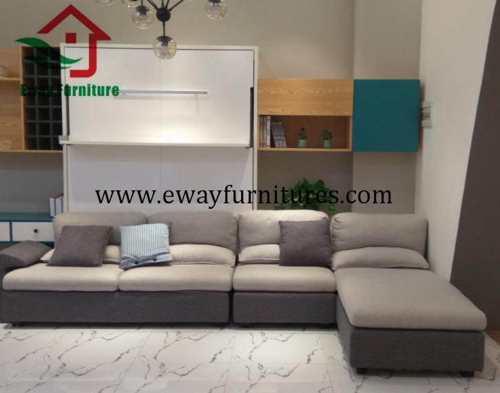 Modern design murphy bed folding wall bed 1