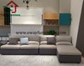 Modern design murphy bed folding wall