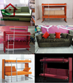 New design fashion folding wall bed murphy bed with sofa bed 5