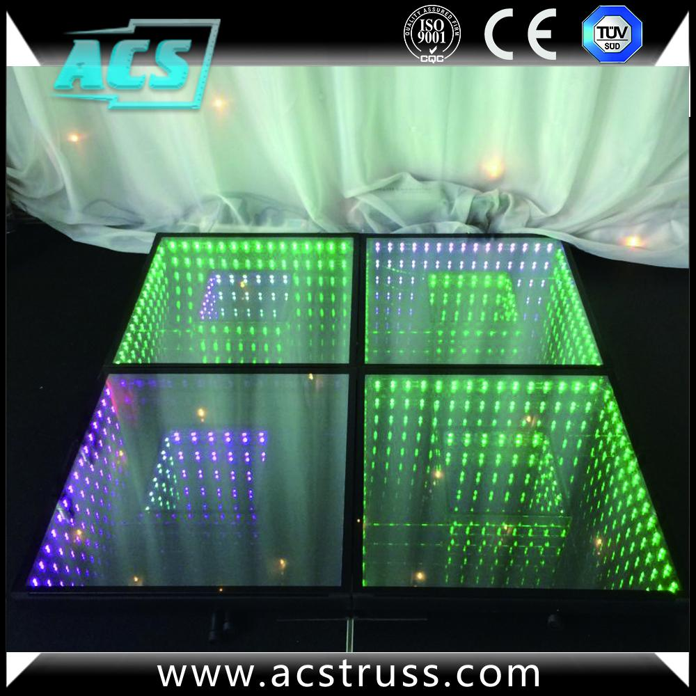 Wedding Or Show Events 3d Dance Floor Tiles For Disco Rgb