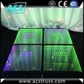 wedding or show events 3D dance floor tiles for disco rgb led dance floor mats  2