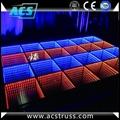 wedding or show events 3D dance floor tiles for disco rgb led dance floor mats  4