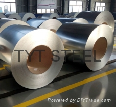 Factory galvanized steel roll coil coated steel