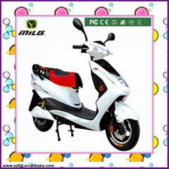 popular 60V 800W strong power electric scooter moped electric motorcycle