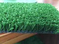 20mm red artificial grass for running track