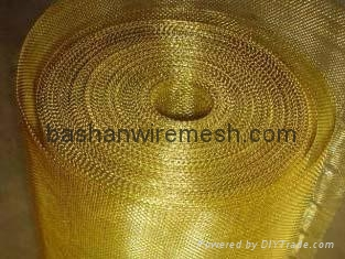 China steel mesh manufacturers Brass Wire Mesh  4