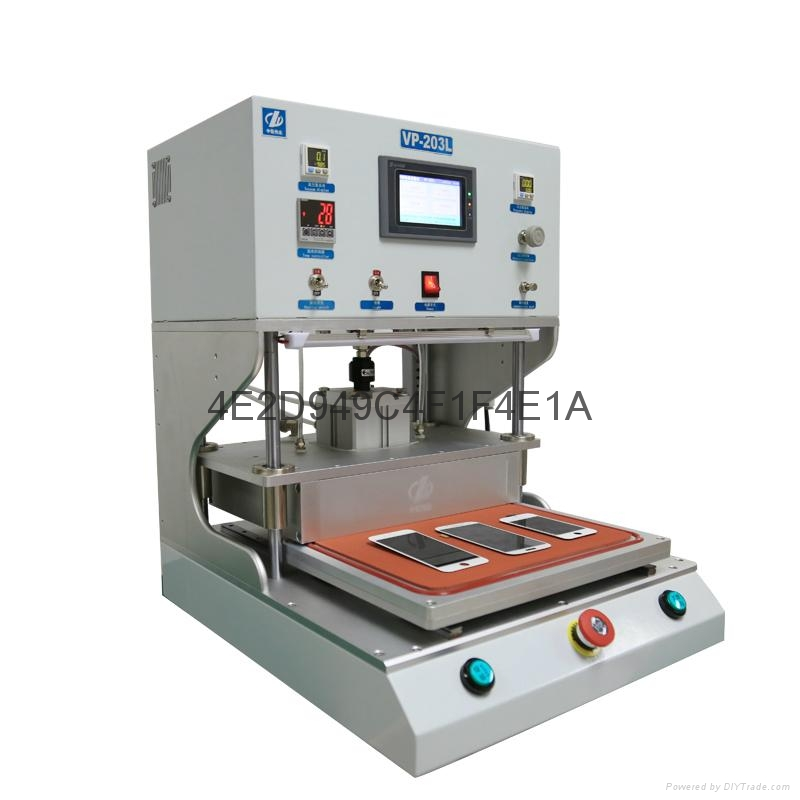 Vacuum laminating machine 4