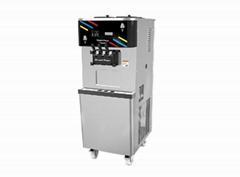 海川DW138TC冰淇淋机立式软质冰淇淋机