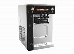海川OP132BA冰淇淋机台式三色冰淇淋机