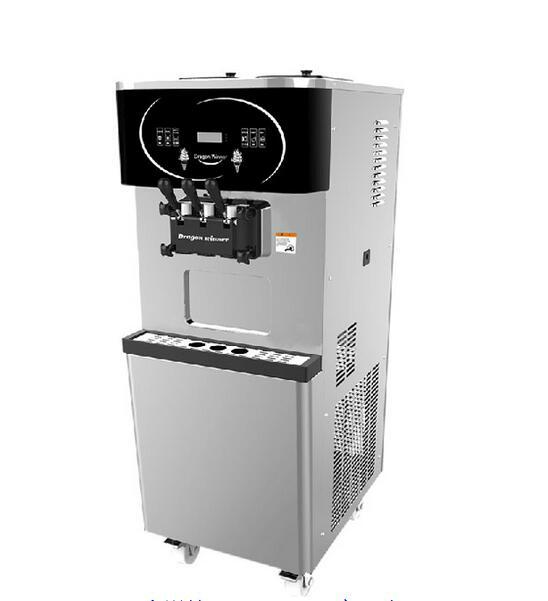海川DW150TC冰淇淋机立式三色冰淇淋机 2