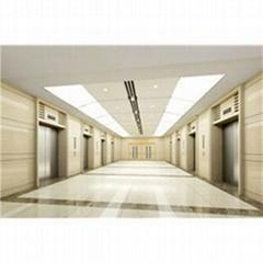 Small machine roomless passenger elevator