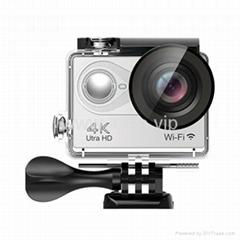 "sport camera H9Plus 4K30/2.7K60/1080p120/720p200 2"" Screen  action camera"