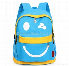 School Backpack for Girls Boys for Middle School Cute Bookbag Outdoor Day pack