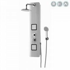 Shower Room Bath Faucet All Color PVC Shower Panel TP5029