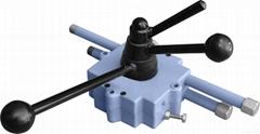 Outdoor self-lock controller of concrete mixer
