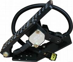 Floor foot throttle
