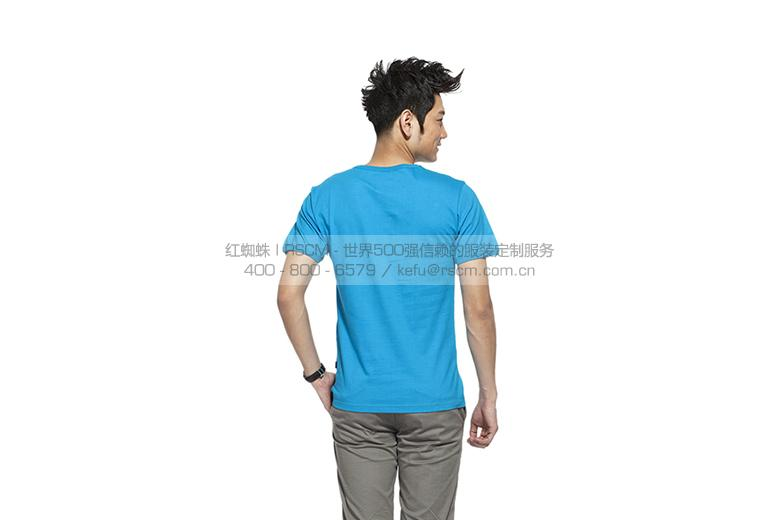 【针织】 定制款男式T恤 运动圆领短袖 2