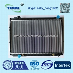 Aluminum auto radiator DPI 1512 for TOYOTA T100 AT from OEM