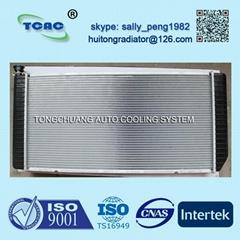 High performance aluminum radiator for CHEVEROLET