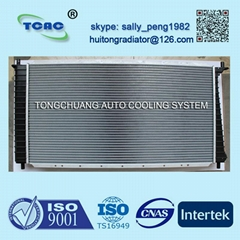 High performance aluminum auto radiator DPI 1831 for FORD BRONCO