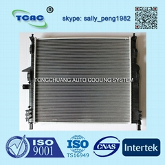 High performance auto radiator DPI2190 for MERCEDES BENZ CLASS AT MT