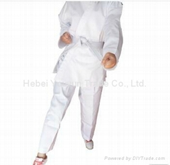 Martial arts style twill fabric karate uniforms