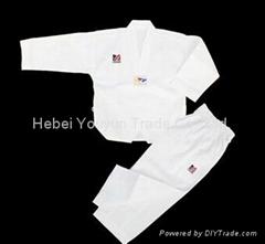 UWIN Poomsae WTF Uniform Male Taekwondo Dobok TKD Male Tae Kwon Do new product