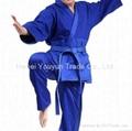 100% Cotton Blue Judo Gi Uniform