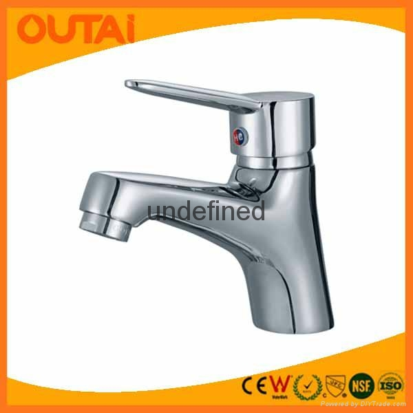 Customed Single Lever Lavatory Faucets 1