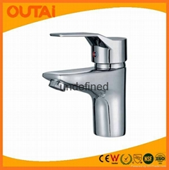 Classical Rectangle Single Hole Kitchen Faucet