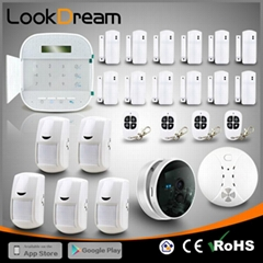 Lookdream Best Wireless Security Burglar Wireless Home Alarm W RFID
