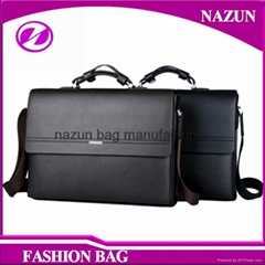 Hot Selling Customize cow Leather Men Business bags Cool Men Business Briefcase