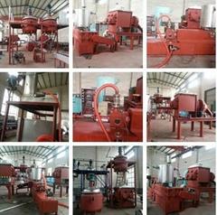 Hot melt glue adhesive stick granules complete production line machine