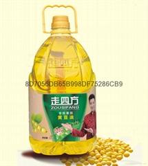 走四方5L非轉基因黃豆油