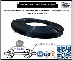 Roller Shutter Steel Strip