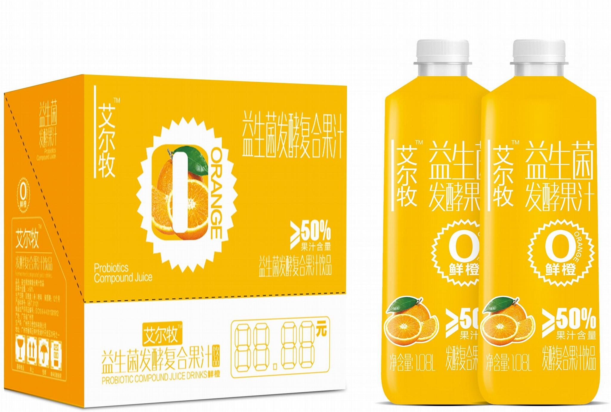 1.08L大瓶艾尔牧鲜橙汁 1