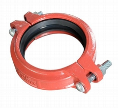 FM UL Approved ductile iron Grooved pipe