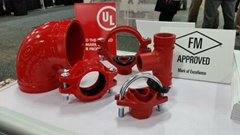 FM Approved UL Listed Grooved Couplings