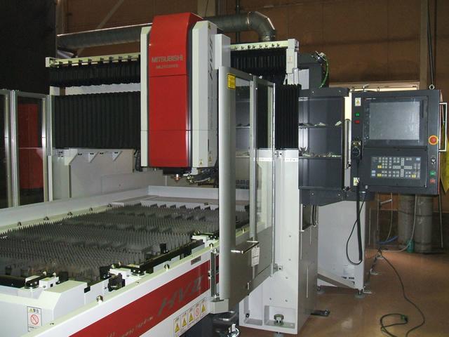 三菱三维五轴激光切割机 4
